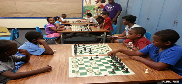 Chess at Danforth Library