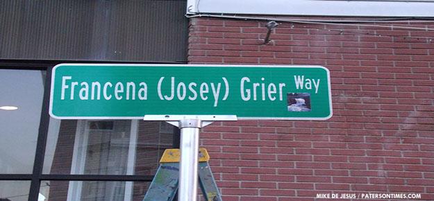 Francena-Josey-Grier-Way