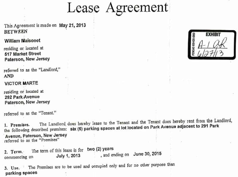 Controversial taxi company leasing Parking Authority lot to liquor – Parking Lease Template