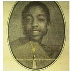Lawrence Meyers' 8th grade graduation picture from School 15.