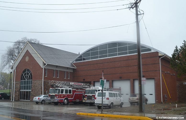 The new firehouse on McBride Avenue.