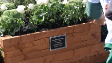 The Lira Peace Garden dedicated to Kenneth Lira.