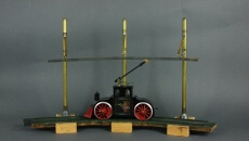 Electric-powered toy locomotive, 2005 -- based on the 1895 original by Jehu Garlick. Courtesy of New Jersey State Museum   Nicholas Ciotola.