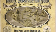 Peg Lock Block booklet. Courtesy of New Jersey State Museum | Nicholas Ciotola.