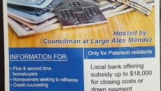 Alex Mendez's purported financial relief workshop flyer.