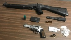 Drugs and guns seized in the operation