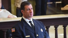 Newly minted Lt. Stephen Iacuzzo