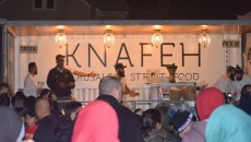 The bearded bakers serve up their famous knafeh in South Paterson.