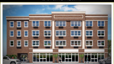 Artistic rendering of the proposed building   Courtesy of Bleeker Architectural Group