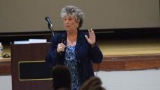 Acting superintendent Eileen Shafer.