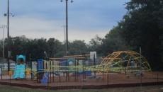 Finished playground at Westside Park.