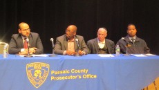 Panel of community leaders at the forum.