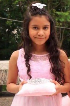 Picture of Samara Moreno from a funeral flyer.