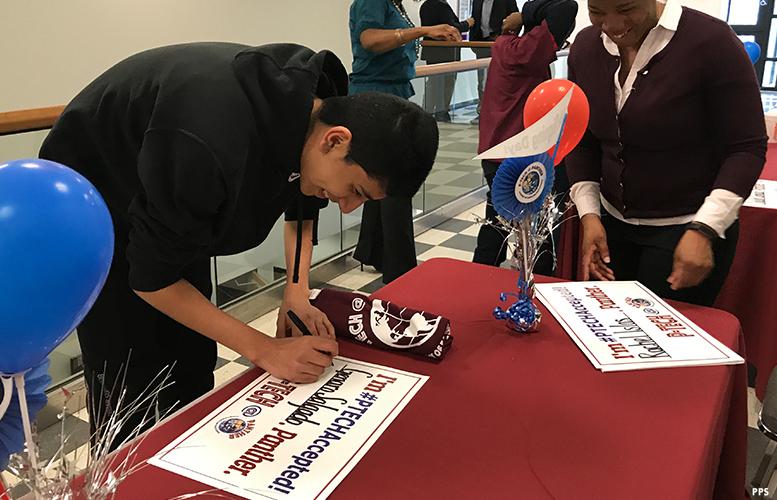 p-tech-high-school-signing