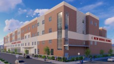 A rendering of the new Don Bosco Middle School. Courtesy of the SDA.