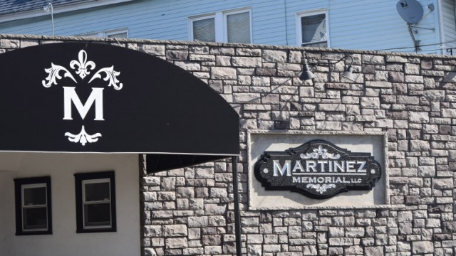 Martinez Memorial funeral home on Market Street.